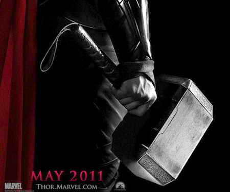 thor movie 2011 poster. movie poster for Thor has