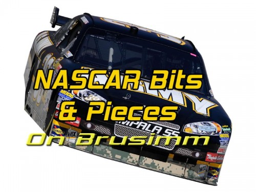 Bruce's NASCAR Bits and Pieces