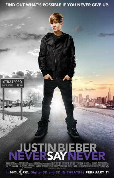 justin bieber concert poster ideas. justin bieber movie never say