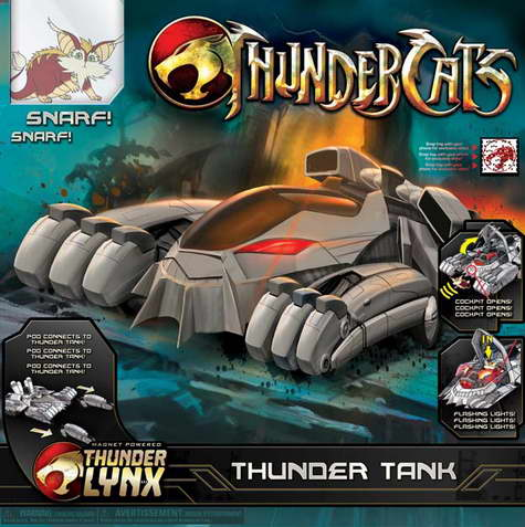 Thundercats Girl on Thundercats    Toy Packaging     The Thunder Tank On Cinema Static