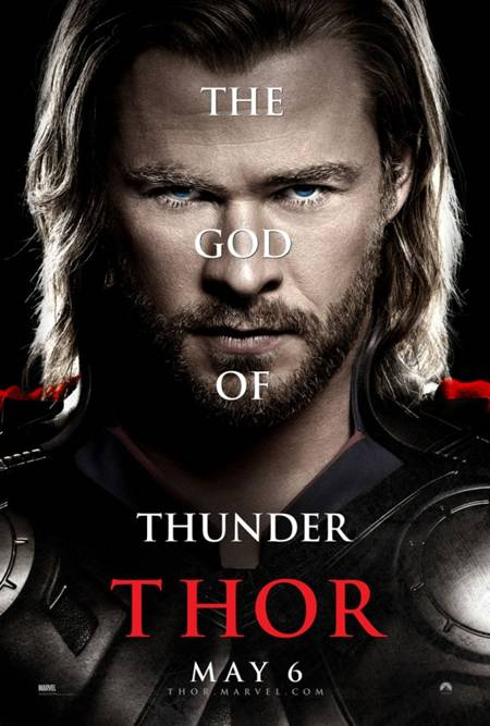 'Thor' movie poster God of