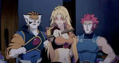 Thundercats Tigra on Cheetara  Tigra And Lion O In The New Animated Thundercats From