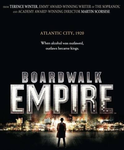 Boardwalk Empire on HBO promo art