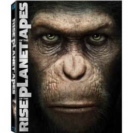 Rise of the Planet ofthe Apes on DVD and Blu-ray