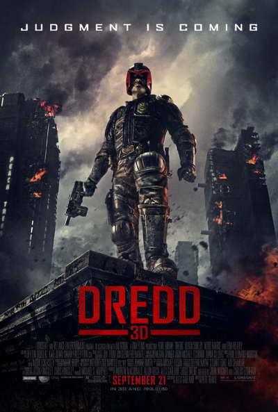 Dredd 3D movie