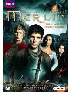 Merlin season 4 on DVD