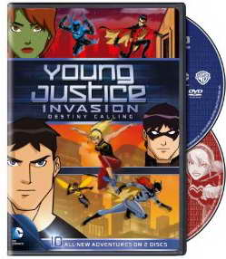 Young Justice Invasion Destiny Calling Season 2 on dvd
