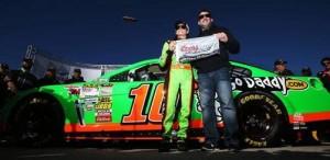 2013 'Daytona 500' pole sitter, Danica Patrick