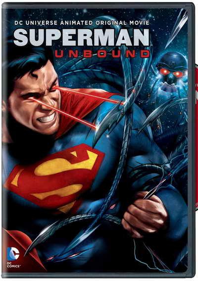 Superman Unbound on DVD