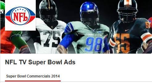 Super Bowl 2014 TV Ads, YouTube