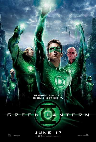 Green Lantern Corps Movie Poster